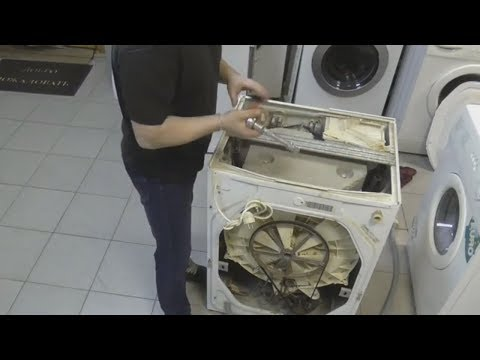 Замена подшипника в стиральной машине Индезит WG662