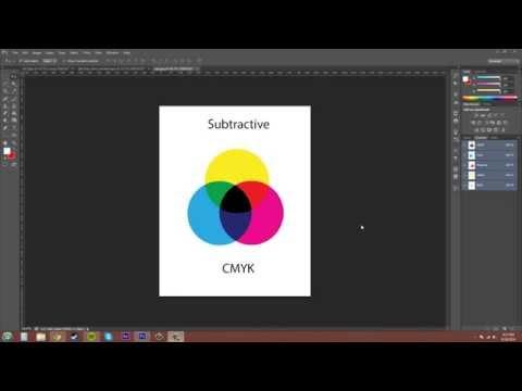 Photoshop CS6 Tutorial - 90 - CMYK Color Mode