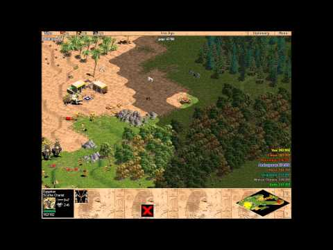 Age of Empires: The Rise of Rome - 1v7 Hard CPU