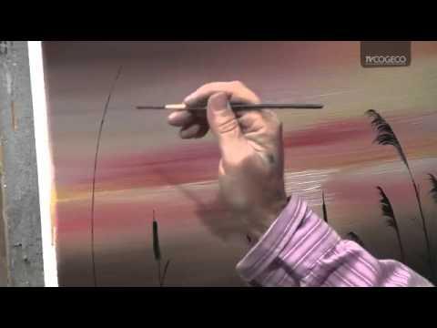 Technique De Peinture De Lherbe Youtube