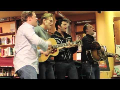 'Million Dollar Quartet' cast interviewed at Denver's Tattered Cover Book Store