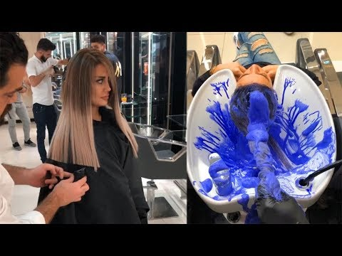 Amazing Hair Colour Transformations by Mounir Salon | Best Hairstyles Compilation 2018