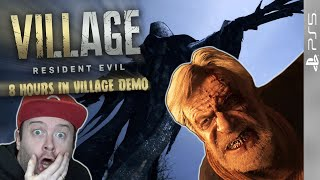 DOMTENDO im HORROR-DORF von RESIDENT EVIL: VILLAGE 🧛‍♀️ 8 Hours in Village DEMO