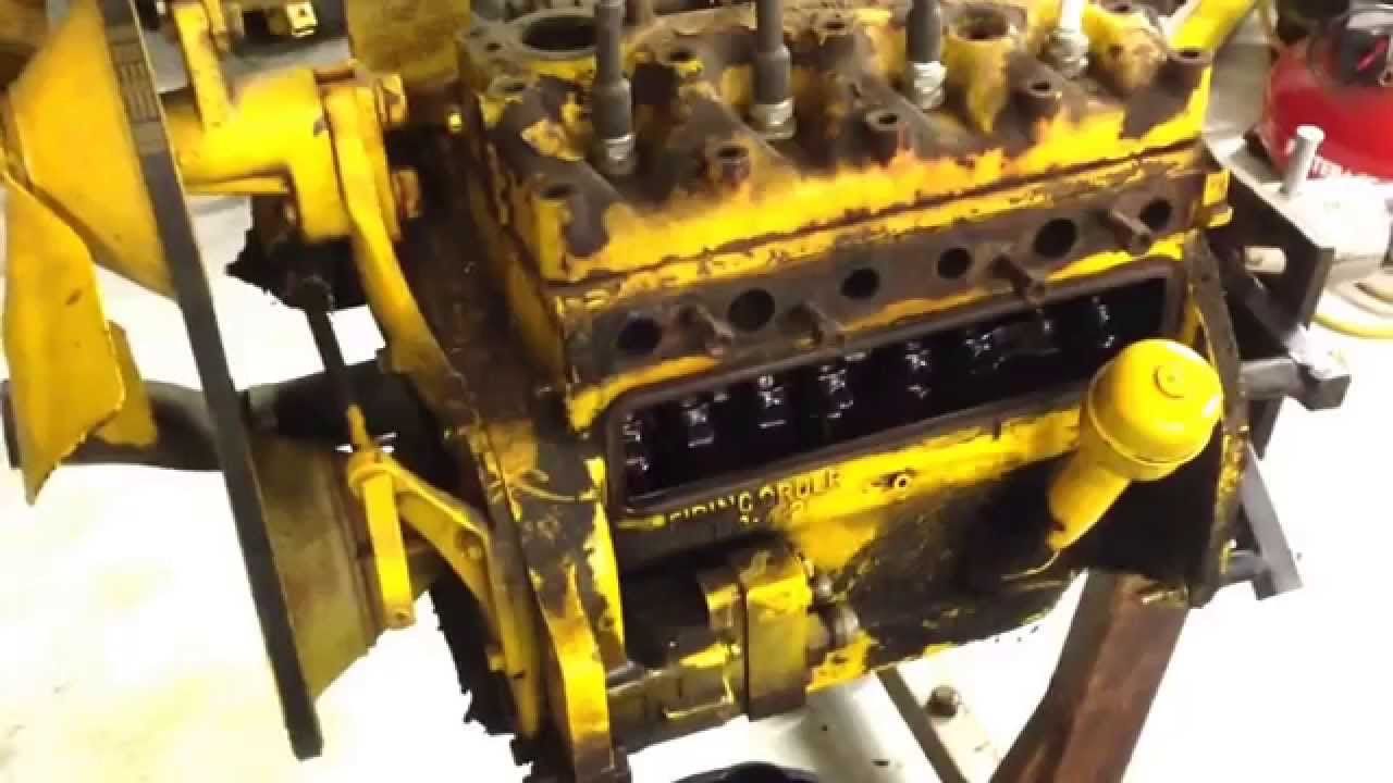 Cub Lo-boy 154 Engine Tear Down Part 1
