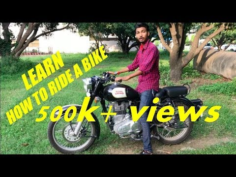 Learn How To Ride A Bike In Few Simple Steps Youtube