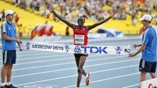 Чемпионат мира в Москве 2013 Марафон \  IAAF World Championships Moscow 2013 Marathon