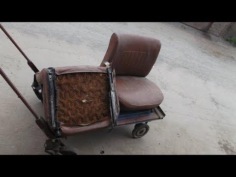Салазки сидений ВАЗ 2101-2107. Ремонт