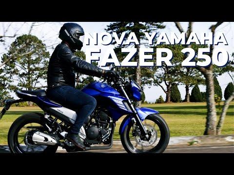 NOVA YAMAHA FAZER ABS 250: confira o que mudou