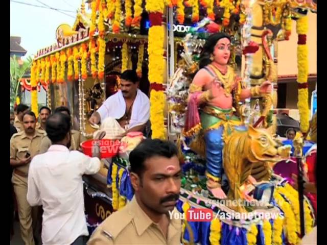 Thanka Anki procession started from Aranmula Parthasarathy Temple | Sabarimala News 2015