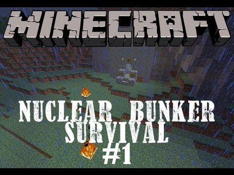 Minecraft | Nuclear Bunker Survival | Episode 1 - The Blast