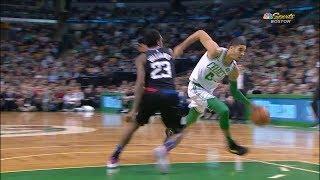 Jayson Tatum Highlights vs Los Angeles Clippers (10 pts, 4 reb, 2 ast)