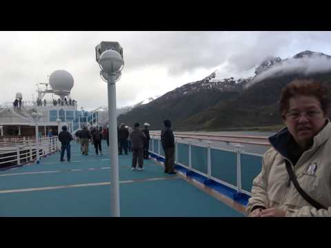 Canal Beagle - sector de Chile - Crucero Princess