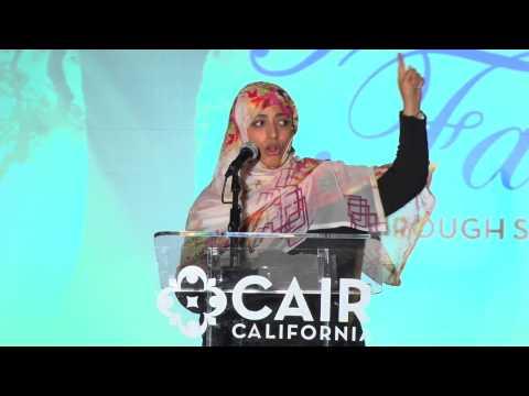 Nobel Laureate Tawakkol Karman's Award and Speech at CAIR-LA Banquet 2014