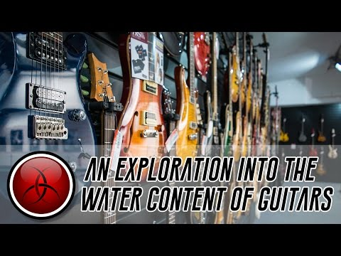 Crimson Road Trip - Exploring Moisture Content in Lots of Guitars