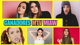 TODOS LOS GANADORES DE LOS PREMIOS MTV MIAW 2019 I Tik Boom Ander