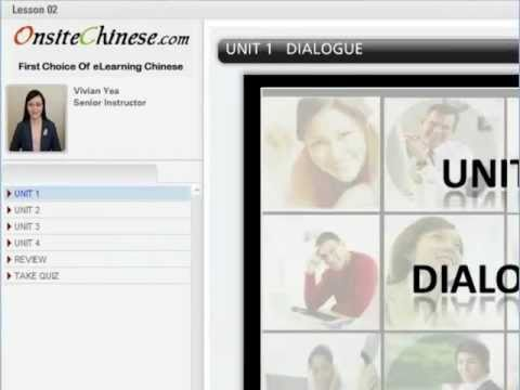 Learn Chinese lessons learn Mandarin lessons Speak Chinese lessons - demo of Real Lessons