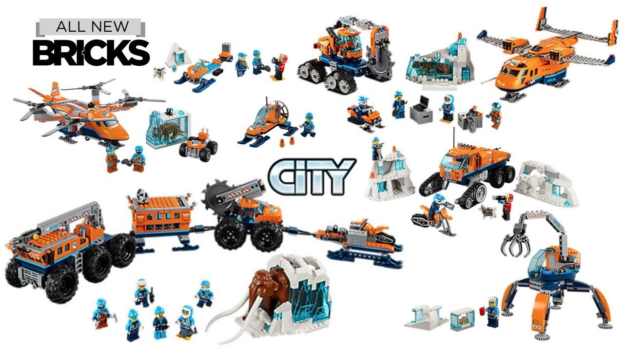 Lego City Arctic Compilation of All Sets #1