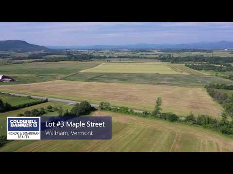 8.5 Acres Of Land For Sale In Waltham | Vermont Real Estate