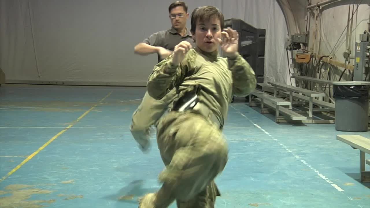 US Army Special Operations Hand to Hand Combat Class