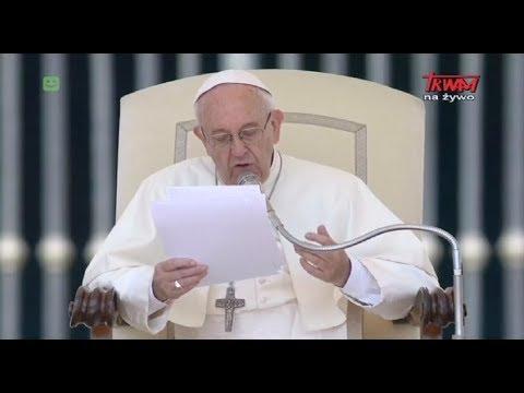 Audiencja Generalna Ojca Świętego Franciszka 31.05.2017