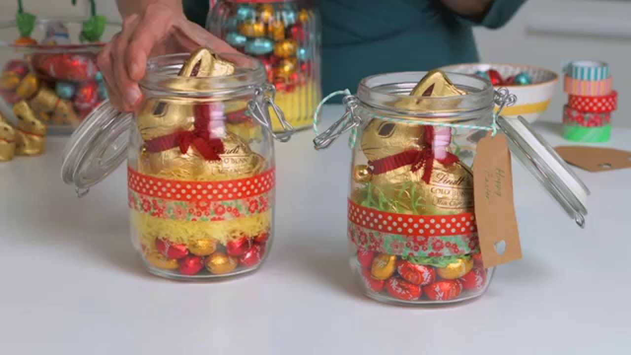Lindt easter gift jars youtube lindt easter gift jars negle