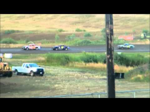 nielsen racing Mineral City Speedway 8-4-13