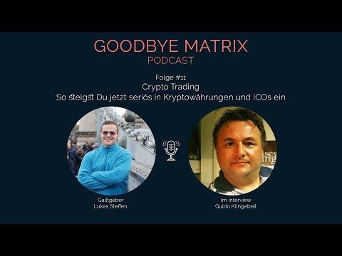 Podcast #11: CRYPTO TRADING - So steigst Du seriös in Kryptowährungen und ICOs ein
