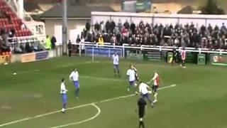Woking 5 -1 Thurrock (BBC Surrey montage)