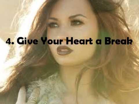 My Top 10 Songs From: Demi Lovato - Unbroken