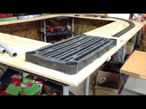 Garden Trains: #005 : Building an Indoor Large Scale Railroad : Freebie Railroad