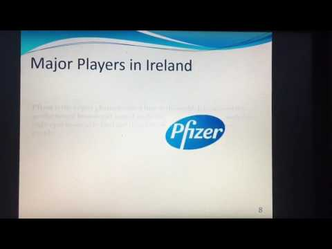 Introduction into the Irish Pharmaceutical Industry