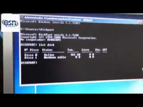 HD não aparece na formatação - Erro de GPT
