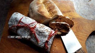HOT AND SPICY Italian Soppressata VEGAN style!!  SEITAN deli meat COLD CUTS