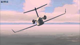 Fsx boeing 777-200 Alitalia fly Italy to Venezuela