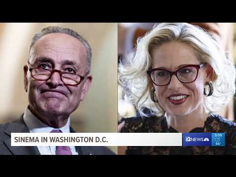 Senator-elect Kyrsten Sinema heads to Washington D.C.