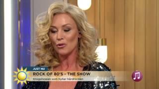 Jessica Andersson: Inte helt ok vad jag hade på mig då - Nyhetsmorgon (TV4)