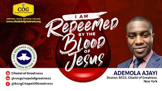 I am redeemed By the blood of Jesus   Ademola Ajayi mov   18th April 2021