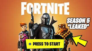 Fortnite Season 5 Battle Pass (MASSIVE NEW SKINS LEAKS)