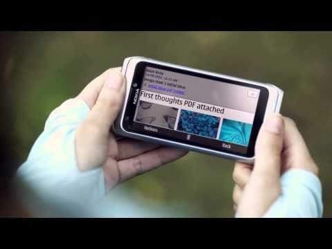 Nokia E7 - Video Preview