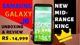 Samsung Galaxy J6 UNBOXING & REVIEW | Mid-Range Smartphone | SB WORLD
