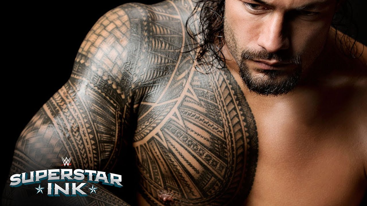 Roman reigns explains the significance behind his tribal tattoo roman reigns explains the significance behind his tribal tattoo part 1 superstar ink youtube maxwellsz