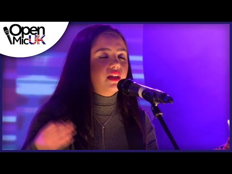 JESSIE J - MASTERPIECE Performed by HAVVA at Open Mic UK GRAND FINAL Singing Competition