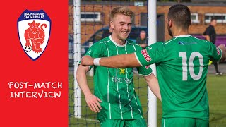 POST MATCH: Players react to Barton Rovers result
