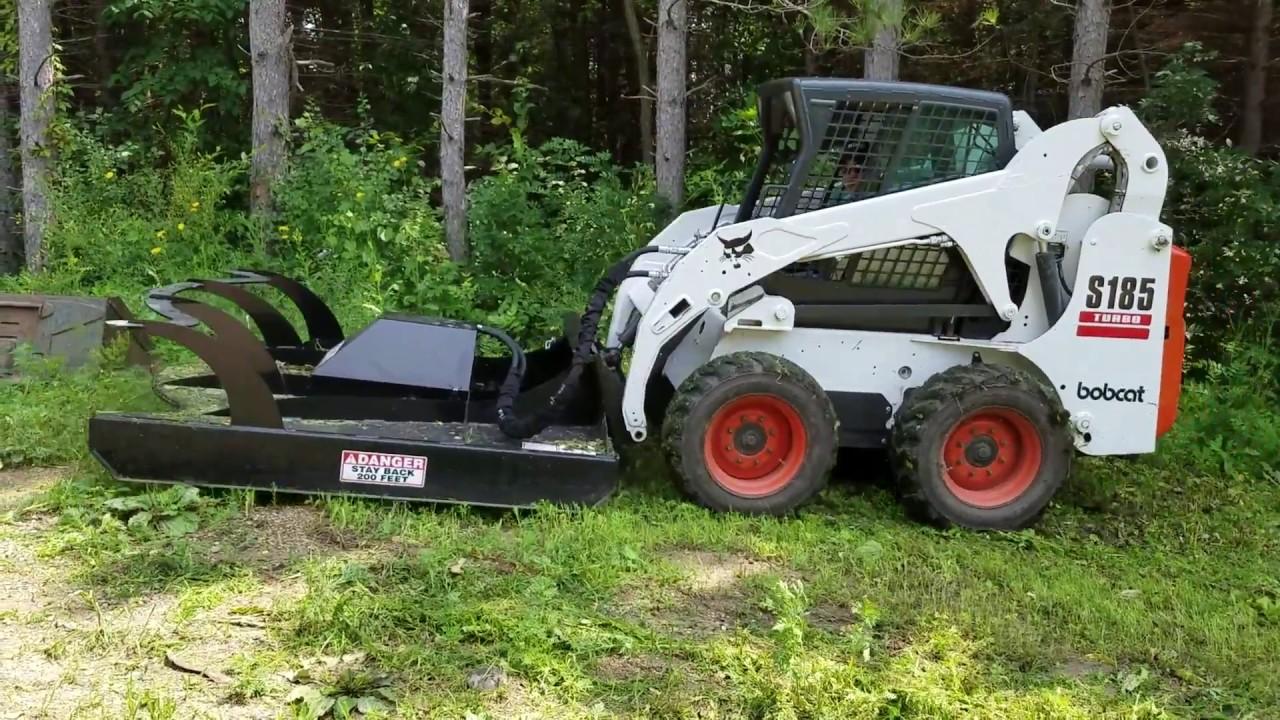 medium resolution of prime brush mower attachment