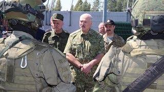 """Лукашенко посетил погранзаставу """"Дивин"""""""