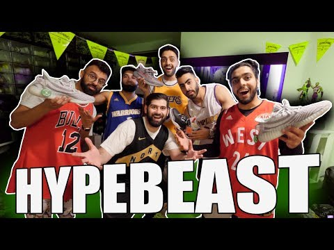 SURPRISING MY FRIENDS WITH HYPEBEAST SNEAKERS!! *EMOTIONAL*