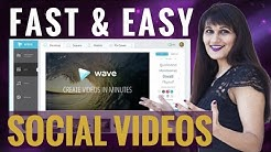 How to Create Videos for Social Media - Wave.Video Tutorial