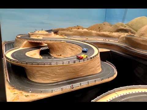 Wroxham Miniature Worlds Slot Car Layout