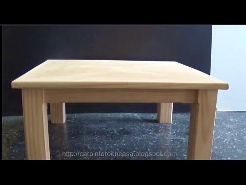 C mo hacer y ambientar una mesa de comedor doovi for Como hacer una mesa redonda de madera