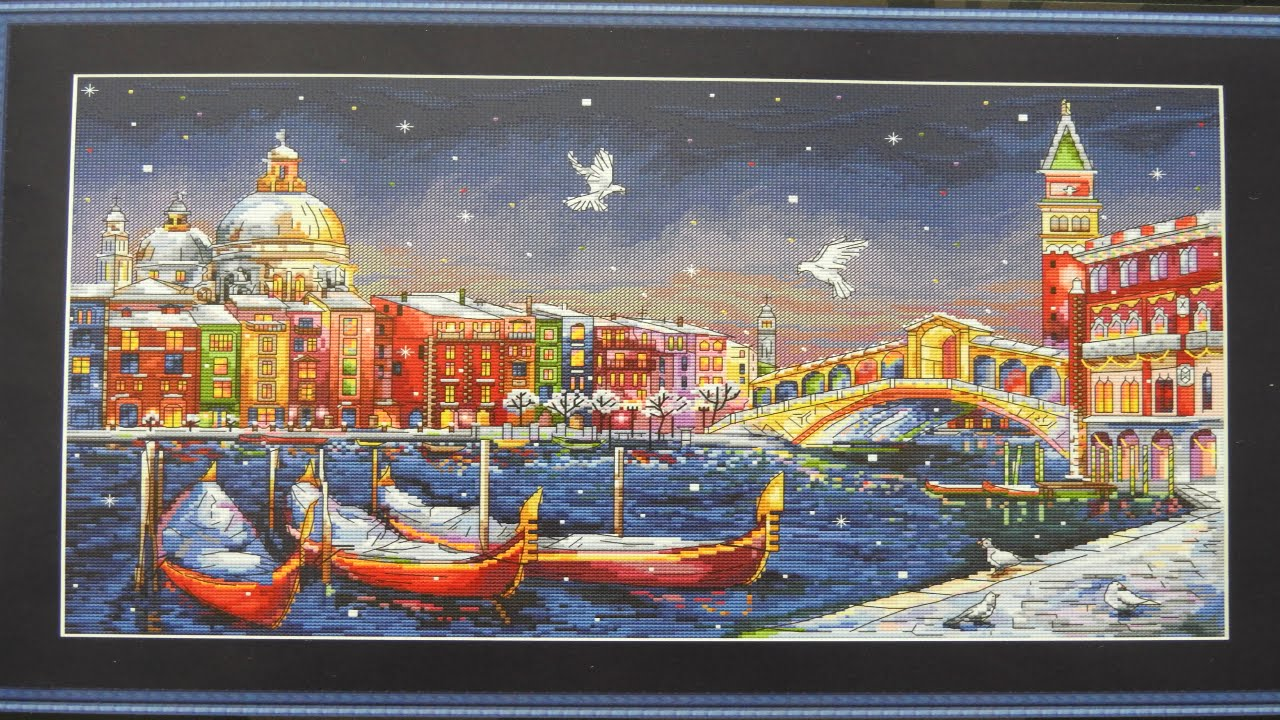 Венеция вышивка крестиком